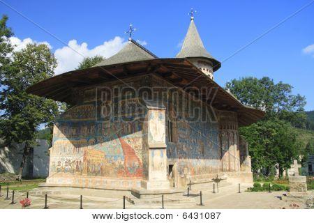 El monasterio de Voronet