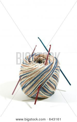 Yarn And Crochet Needles
