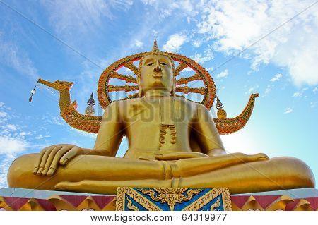 Big Buddha , Surachtani, Thailand