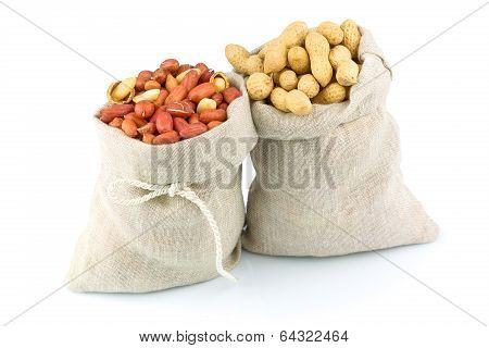 Sacks Of Peanut