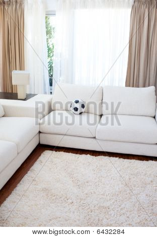 High Angle Of A Living-room