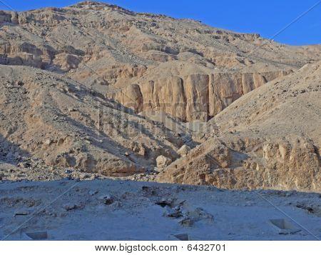 Sand Of Desert In City Dead