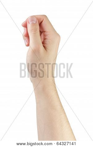 Adult Man Hand To Hold Anything