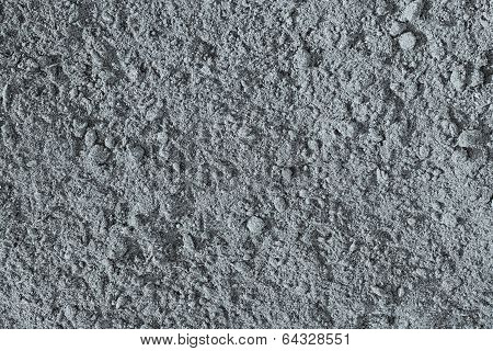 The Crushed Earth Of Silvery Color