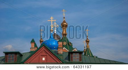 Dome and roof of Kolomna