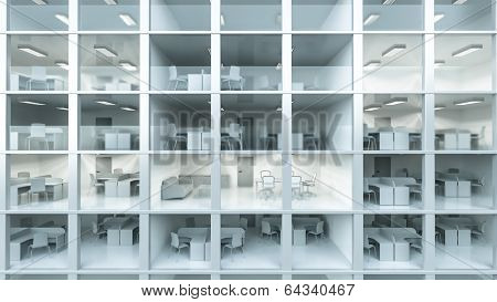 Inside Modern Office Building