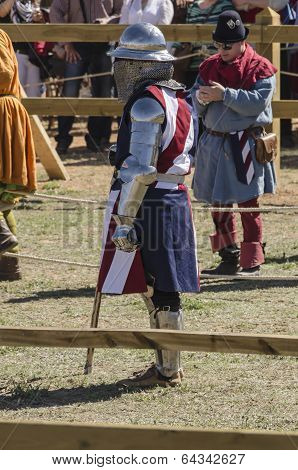 Usa Female Medieval Knight