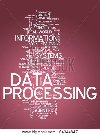 Word Cloud Data Processing