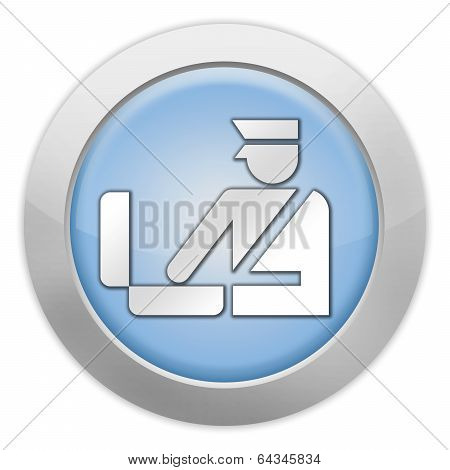 Icon, Button, Pictogram Customs