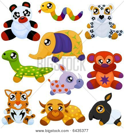 Asian Toy Animals
