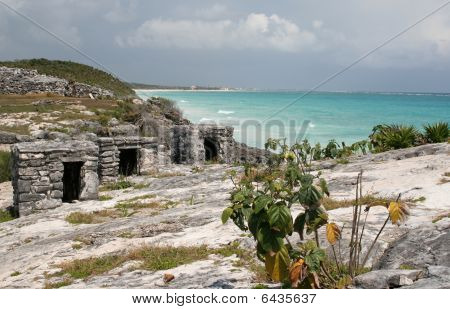 Three Tulum Ruins