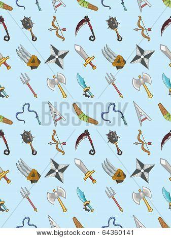 Seamless Weapon Pattern