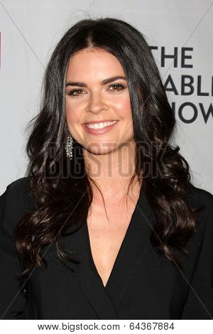 LOS ANGELES - APR 30:  Katie Lee at the NCTA's Chairman's Gala Celebration of Cable with REVOLT at The Belasco Theater on April 30, 2014 in Los Angeles, CA