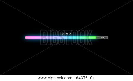 Loading Color Gradient Pink Dark Background