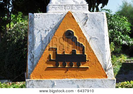 Tren símbolo concreto