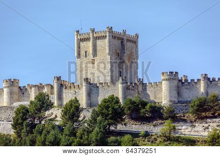 Castle Of Penafiel, Valladolid, Spain
