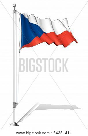 Flag Pole Czech