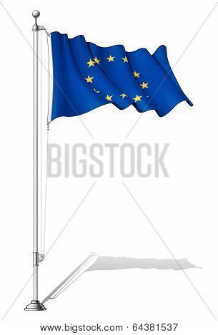 Flag Pole European Union