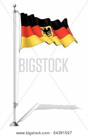 Flag Pole Germany.