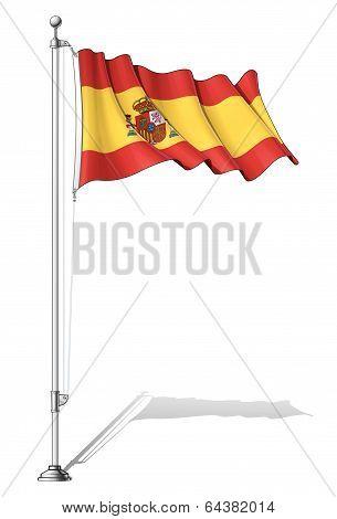 Flag Pole Spain