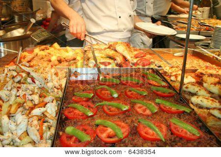 meals at restaurant