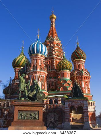 Moscow, St. Basils Cathedral