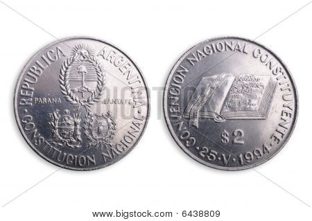 Argentinian Coin, Special Edition.
