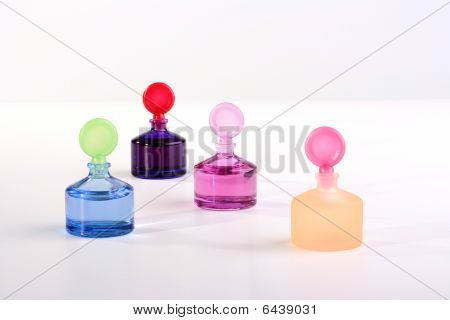 Bottles With Cosmetics