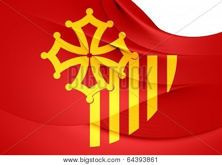 Flag Of Languedoc-roussillon