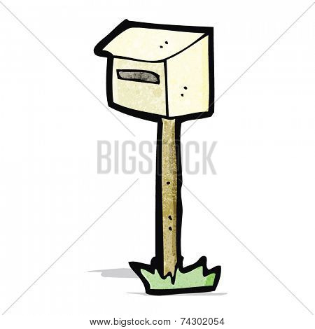 cartoon letterbox