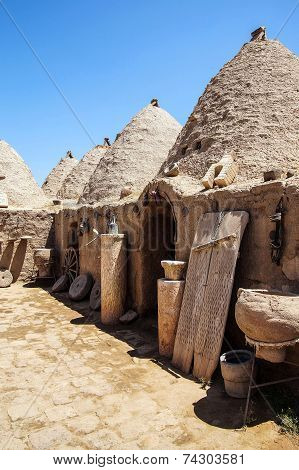 Traditional Beehive Mud Brick Houses
