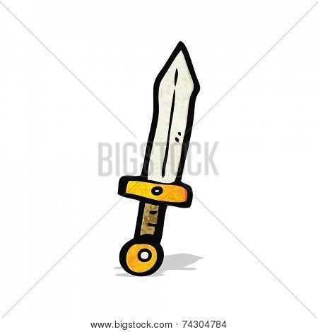 cartoon dagger
