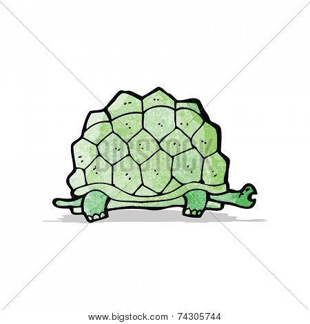 cartoon giant tortoise