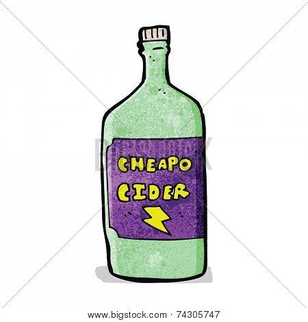 cartoon cheap cider