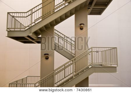 Architectural Exterior  Staircase