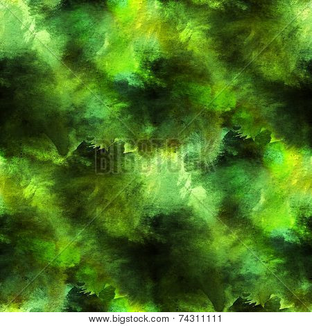 art green background texture watercolor seamless abstract patter