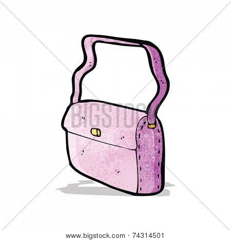 cartoon pink handbag