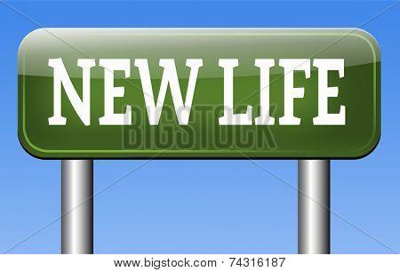 new life fresh start or beginning