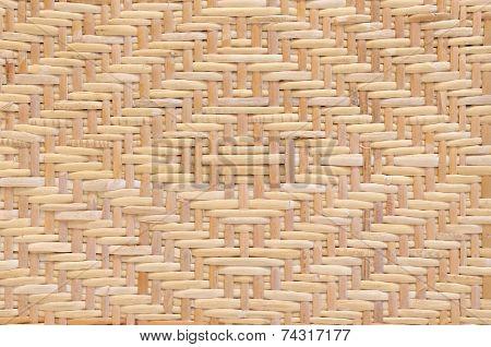 Diamond Pattern Woven Rattan