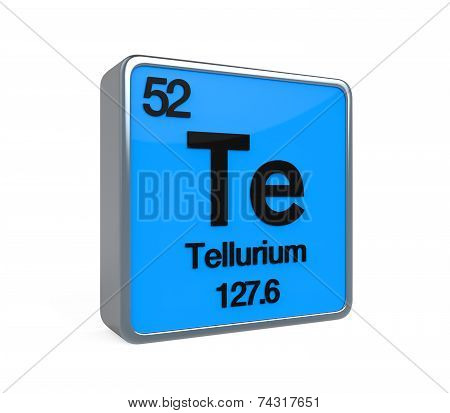 Tellurium Element Periodic Table