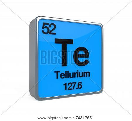 Tellurium Element Periodic Table
