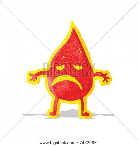 cartoon little fire spirit