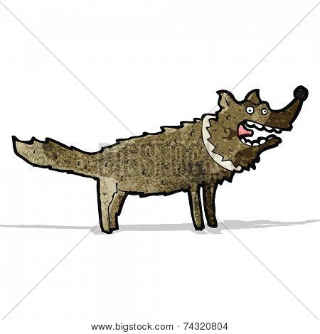 cartoon scruffy dog