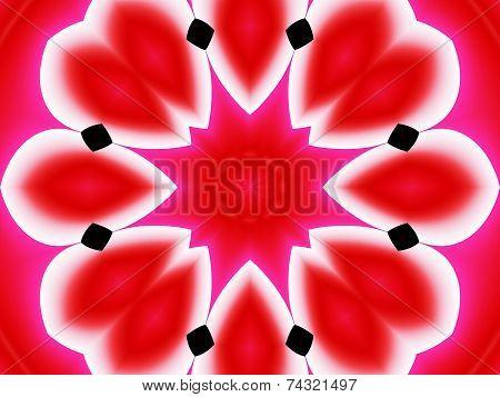 Red background, gradient pattern