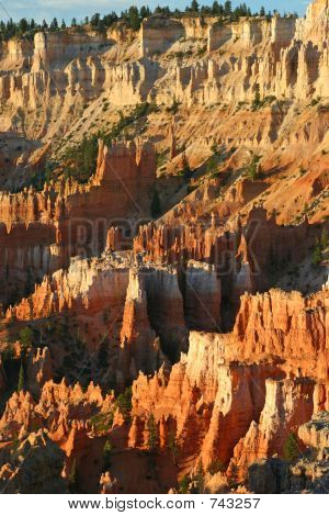 Sunset Point at daybreak, Bryce Canyon National Park