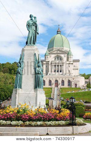 Saint Joseph Oratory In Montreal