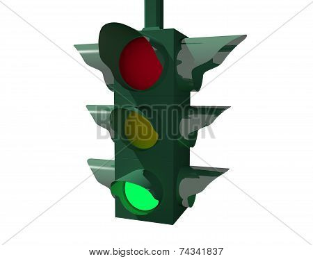 Traffic light: GO