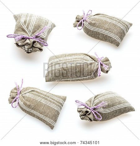 Sachet With Dried Lavender