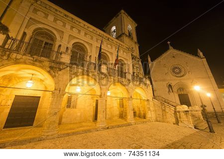 Norcia By Night