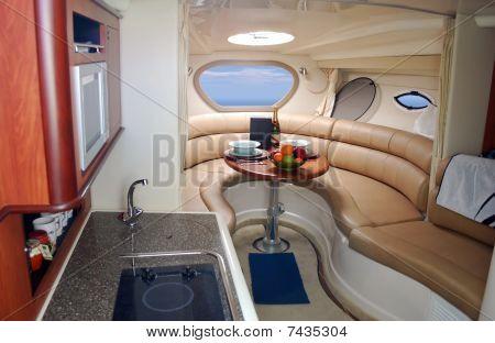 new luxury yacht interior